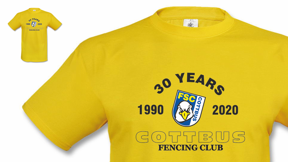 "Das Team-Shirt ""30 YEARS"""
