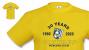 Mit Team-Shirt